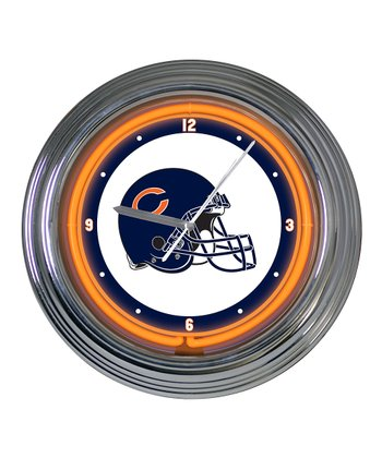 Chicago Bears Neon Clock
