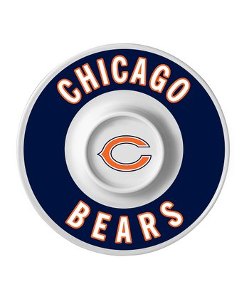 Chicago Bears Dip Serving Tray