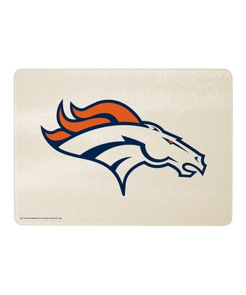 Denver Broncos Logo Cutting Board