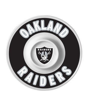 Oakland Raiders Dip Serving Tray