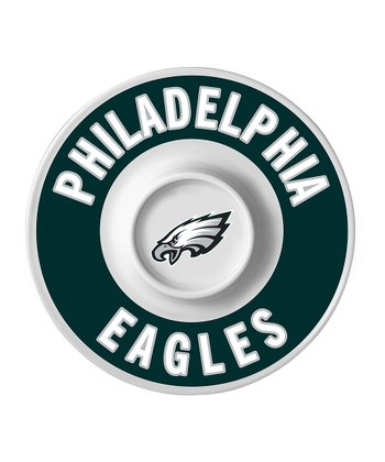 Philadelphia Eagles Dip Serving Tray