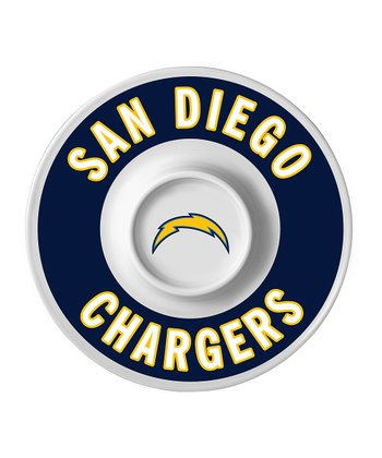 San Diego Chargers Dip Serving Tray