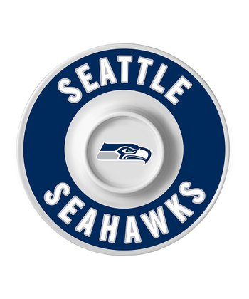 Seattle Seahawks Dip Serving Tray