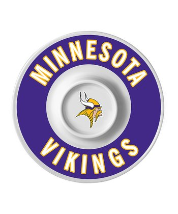 Minnesota Vikings Dip Serving Tray