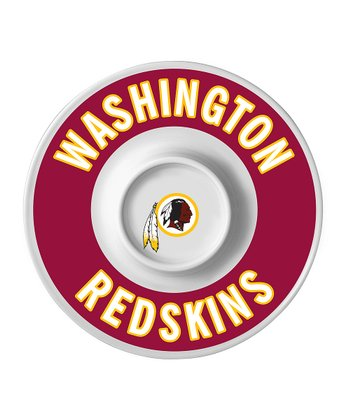 Washington Redskins Dip Serving Tray