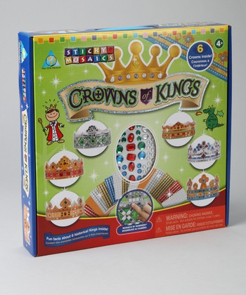 Crowns of Kings Sticky Mosaics Kit