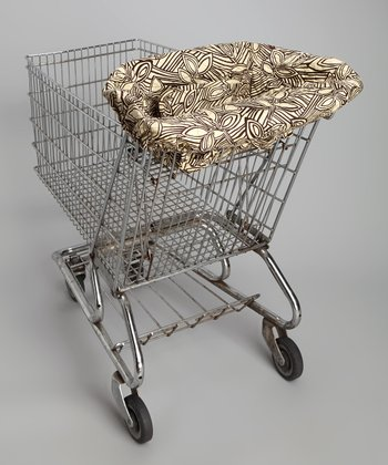 Vanilla Bean Shopping Cart Cover