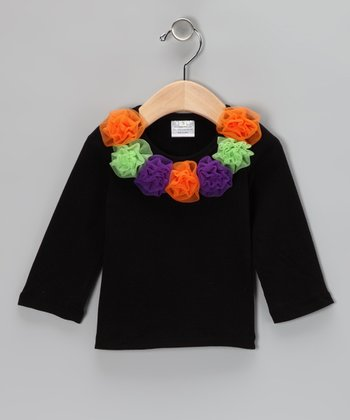 Lime Rosette Top - Infant, Toddler & Girls