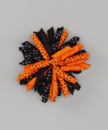 Orange & Black	Korker Bow Clip