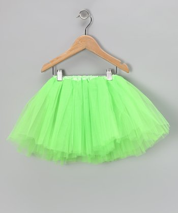 Lime Tutu - Toddler & Girls