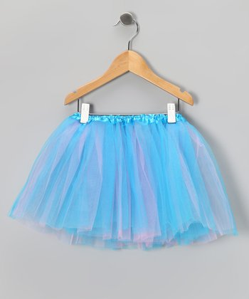 Turquoise & Hot Pink Tutu - Toddler & Girls