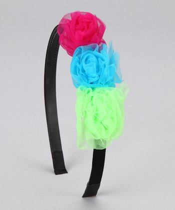 Rainbow Party Headband