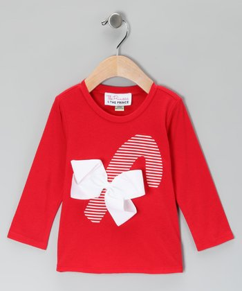 Red Candy Cane Tee - Infant, Toddler & Girls