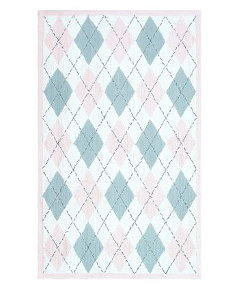 Pink & Gray Haywood Rug