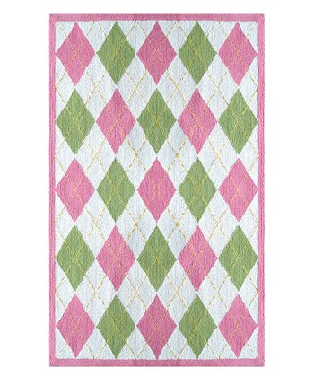 The Rug Market Pink & Green Haywood Rug