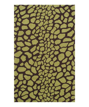 Green & Brown Kizuri Rug