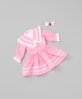 Pink Traditional 18''-Doll Outfit
