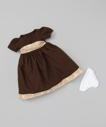Brown 18''-Doll Outfit