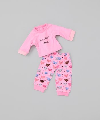 Pink Kitty Doll Outfit