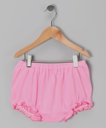 Pink Organic Diaper Cover - Infant