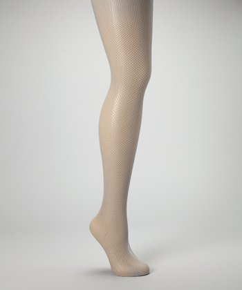 Gray Fishnet Tights