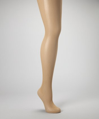 Nude Fishnet Tights