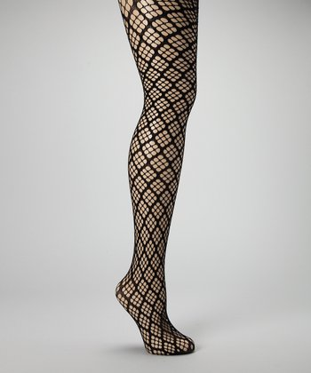 Black Diamond Net Tights