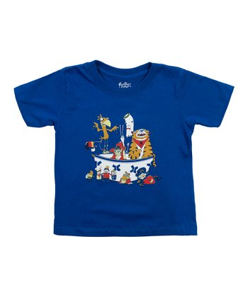 Royal Blue Sugar High Tee - Toddler & Kids