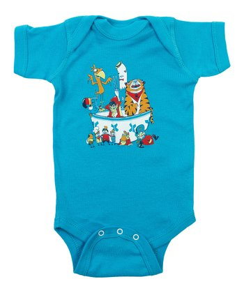 Teal Sugar High Bodysuit - Infant