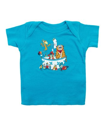 Teal Sugar High Lapneck Tee - Infant