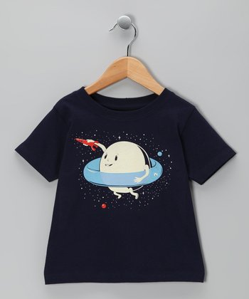 Navy Saturn's Ring Tee - Toddler