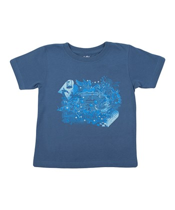 Indigo Fantasy Space Tee - Toddler & Kids