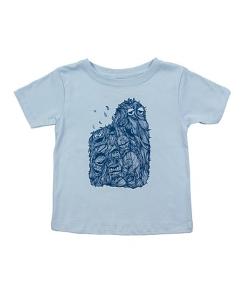 Light Blue Hairy Street Tee - Toddler & Kids