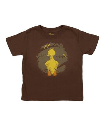 Chestnut Big Bird Tee - Toddler & Kids