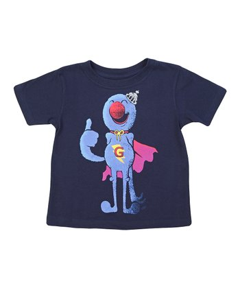 Navy Super Grover Tee - Toddler & Kids