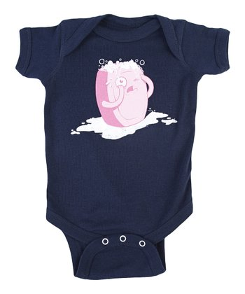 Navy Bubble Trouble Bodsyuit - Infant
