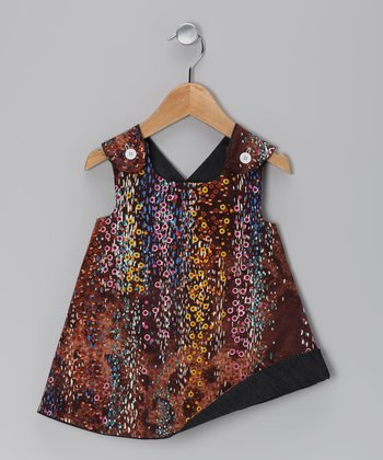 Brown Animal Jumper - Infant, Toddler & Girls