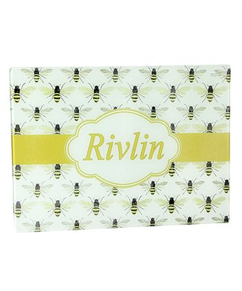 Citron Bees Personalized Cutting Board