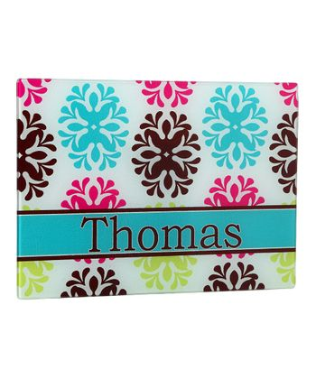 Damask Personalized Cutting Board