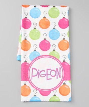 Ornament Personalized Hand Towel