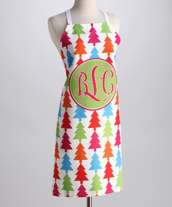 Tree Monogram Apron - Adults