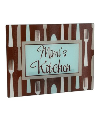 Utensil Personalized Cutting Board