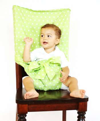 Green Polka Dot Tie Chair