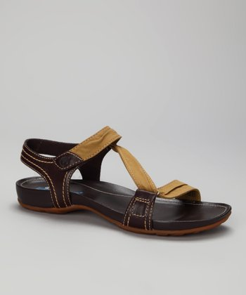 Brown & Olive Lola Bay Sandal
