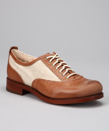 Tan Lucille Oxford