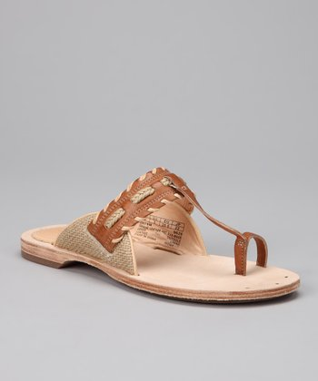 Tan Marge Sandal