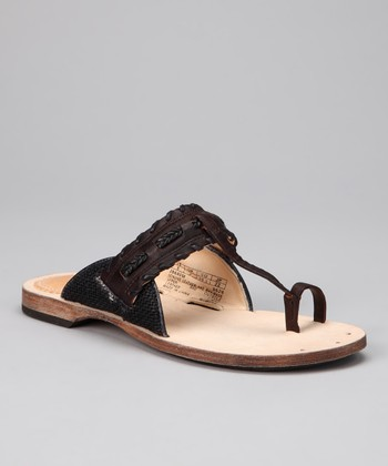 Black Marge Sandal
