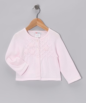 Pink Flower Cardigan - Infant, Toddler & Girls