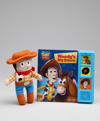 Toy Story Board Book & Plush Toy