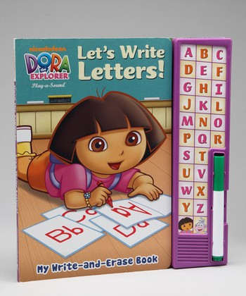 Dora ABC Write & Erase Sound Board Book